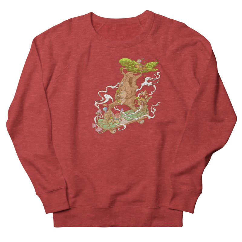 The wood holiday Men's French Terry Sweatshirt by makapa's Artist Shop