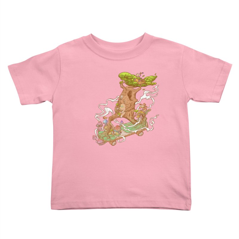 The wood holiday Kids Toddler T-Shirt by makapa's Artist Shop