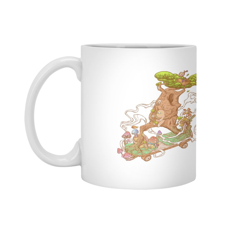 The wood holiday Accessories Mug by makapa's Artist Shop
