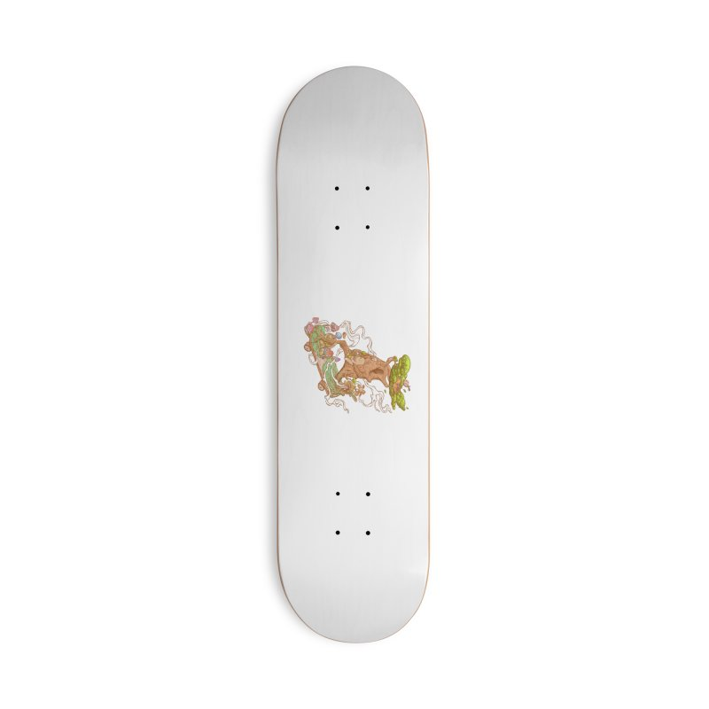 The wood holiday Accessories Deck Only Skateboard by makapa's Artist Shop