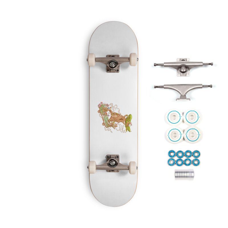 The wood holiday Accessories Complete - Basic Skateboard by makapa's Artist Shop