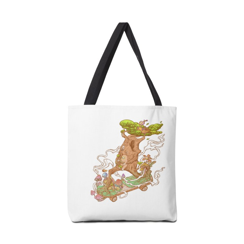 The wood holiday Accessories Tote Bag Bag by makapa's Artist Shop