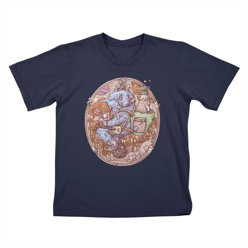 Caffriendine Kids T-Shirt by makapa's Artist Shop