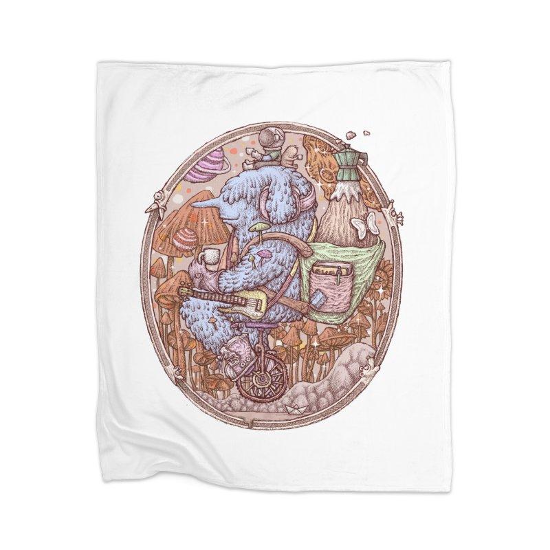 Caffriendine Home Blanket by makapa's Artist Shop