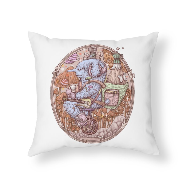 Caffriendine Home Throw Pillow by makapa's Artist Shop