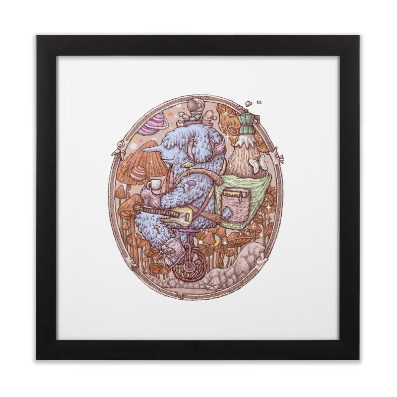 Caffriendine Home Framed Fine Art Print by makapa's Artist Shop