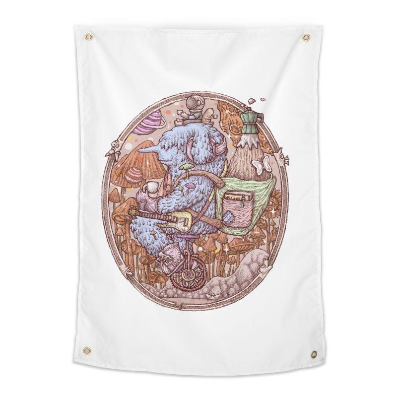 Caffriendine Home Tapestry by makapa's Artist Shop