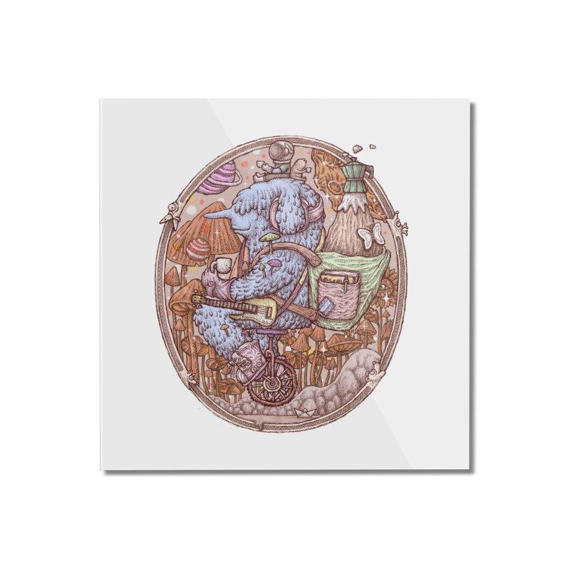 Caffriendine Home Mounted Acrylic Print by makapa's Artist Shop