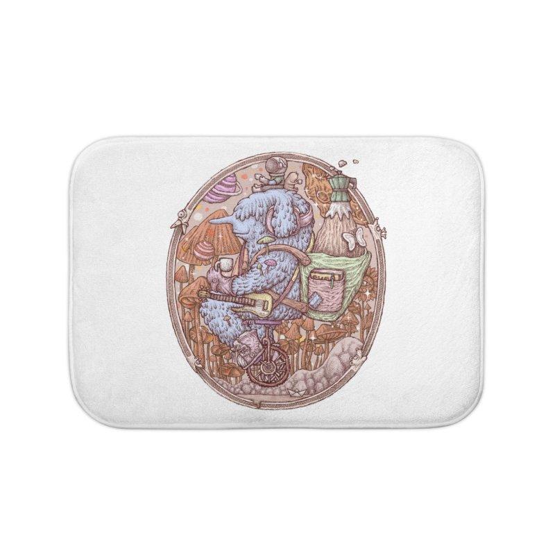 Caffriendine Home Bath Mat by makapa's Artist Shop