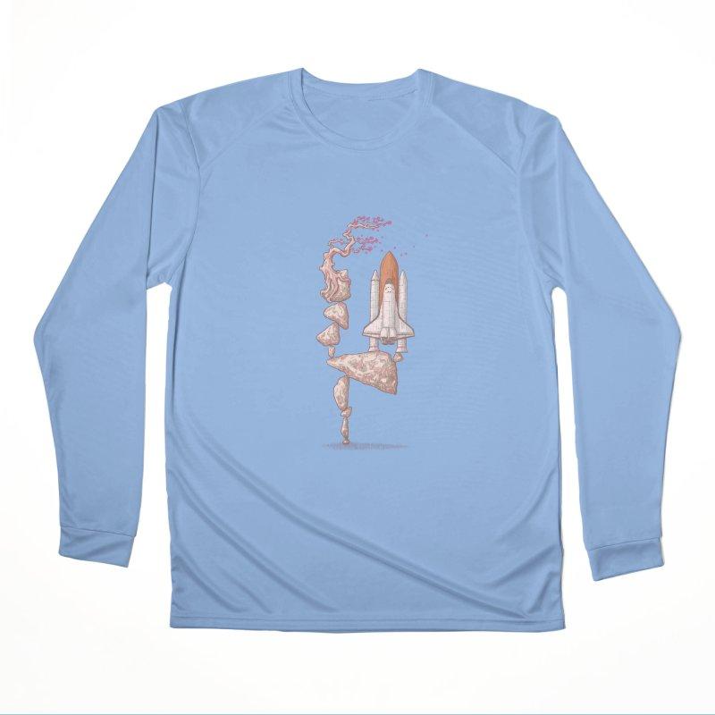 Zen gravity Women's Longsleeve T-Shirt by makapa's Artist Shop