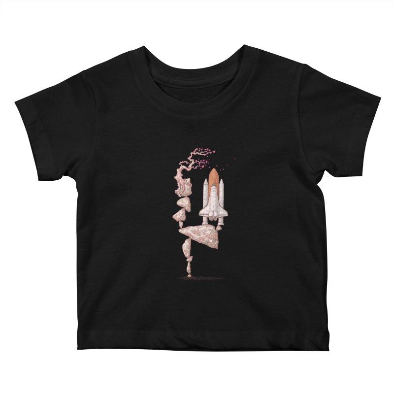 Zen gravity Kids Baby T-Shirt by makapa's Artist Shop