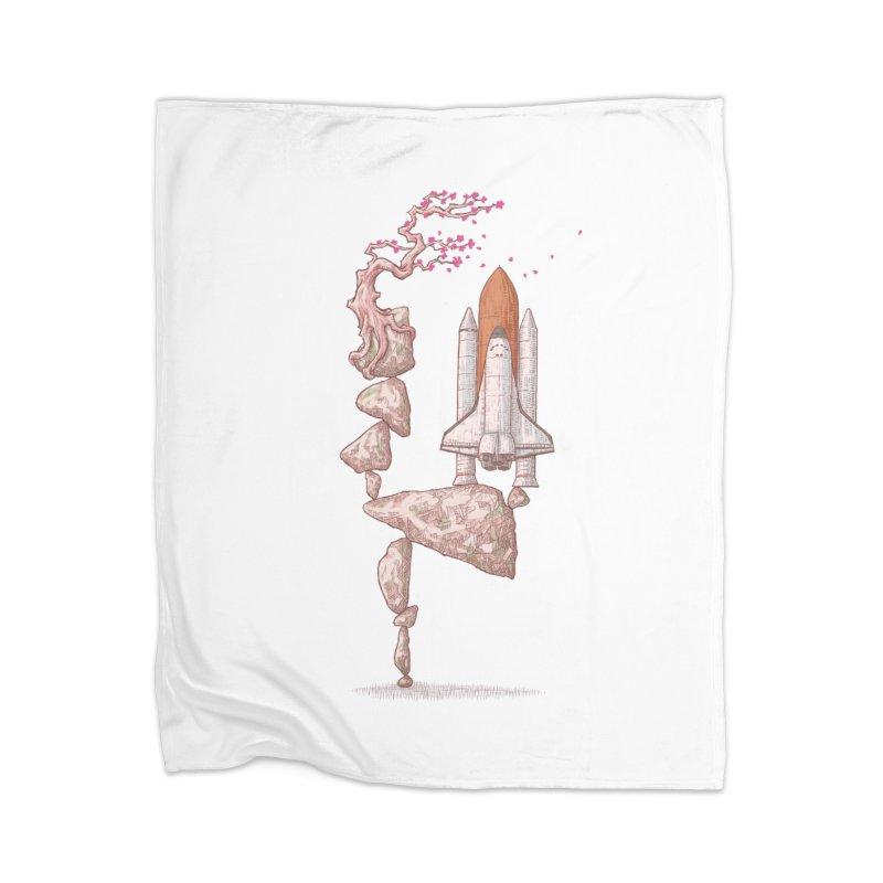Zen gravity Home Blanket by makapa's Artist Shop
