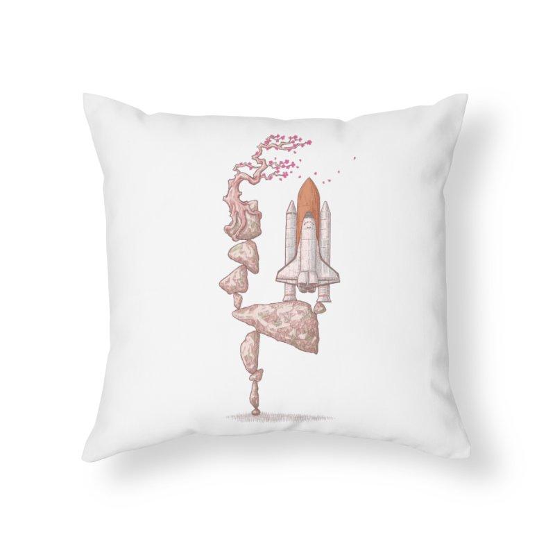 Zen gravity Home Throw Pillow by makapa's Artist Shop