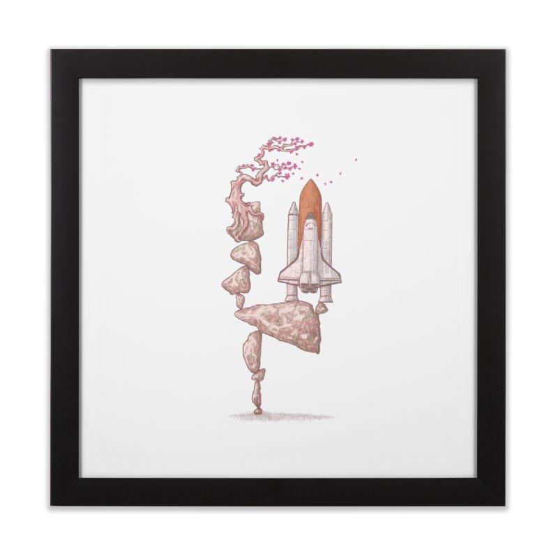 Zen gravity Home Framed Fine Art Print by makapa's Artist Shop