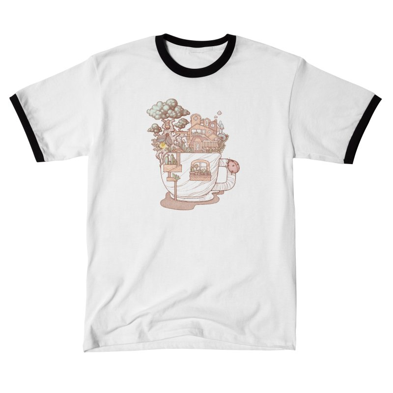 Small house memory Men's T-Shirt by makapa's Artist Shop
