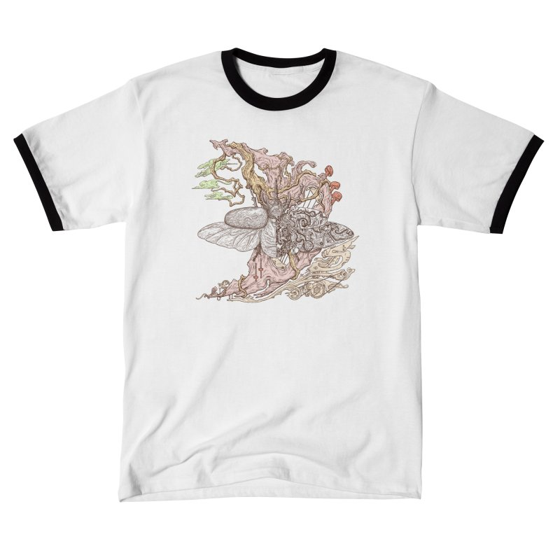 Flying in lucid dream Men's T-Shirt by makapa's Artist Shop