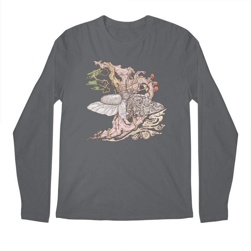 Flying in lucid dream Men's Longsleeve T-Shirt by makapa's Artist Shop