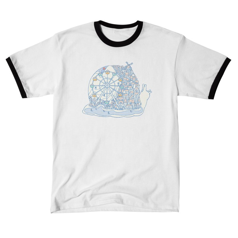 Dream of snail Men's T-Shirt by makapa's Artist Shop