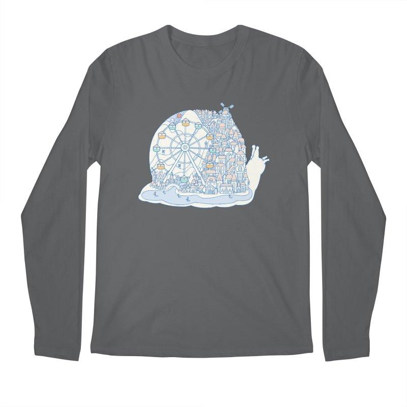 Dream of snail Men's Longsleeve T-Shirt by makapa's Artist Shop