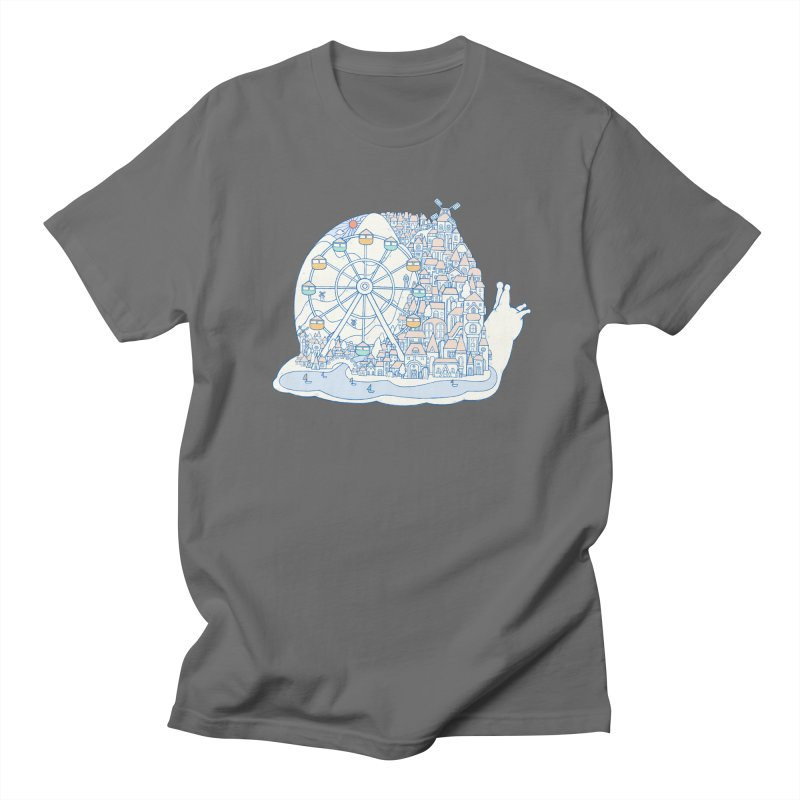 Dream of snail Men's T-Shirt by makapa's Artist Shop