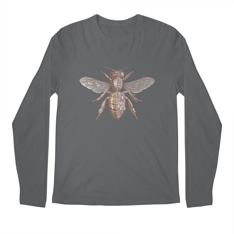 Bee anatomy Men's Longsleeve T-Shirt by makapa's Artist Shop