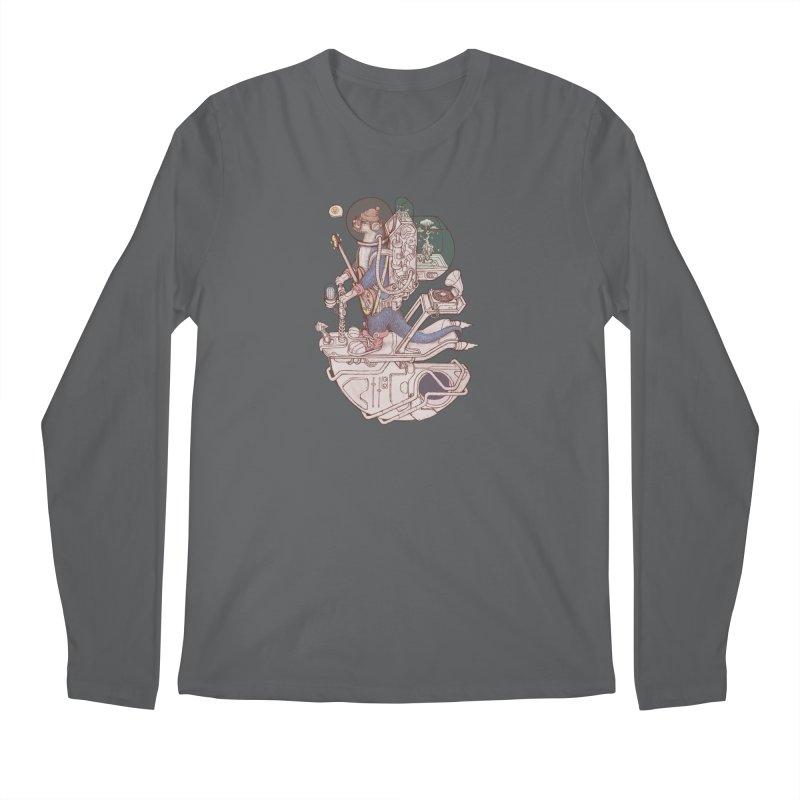 Otter space suits 02 Men's Longsleeve T-Shirt by makapa's Artist Shop