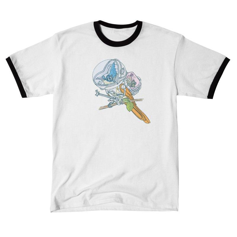 Little bird sci-fi Men's T-Shirt by makapa's Artist Shop