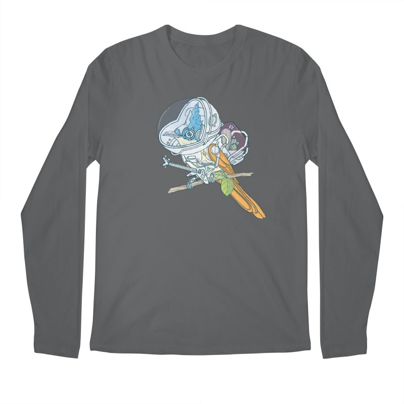 Little bird sci-fi Men's Longsleeve T-Shirt by makapa's Artist Shop