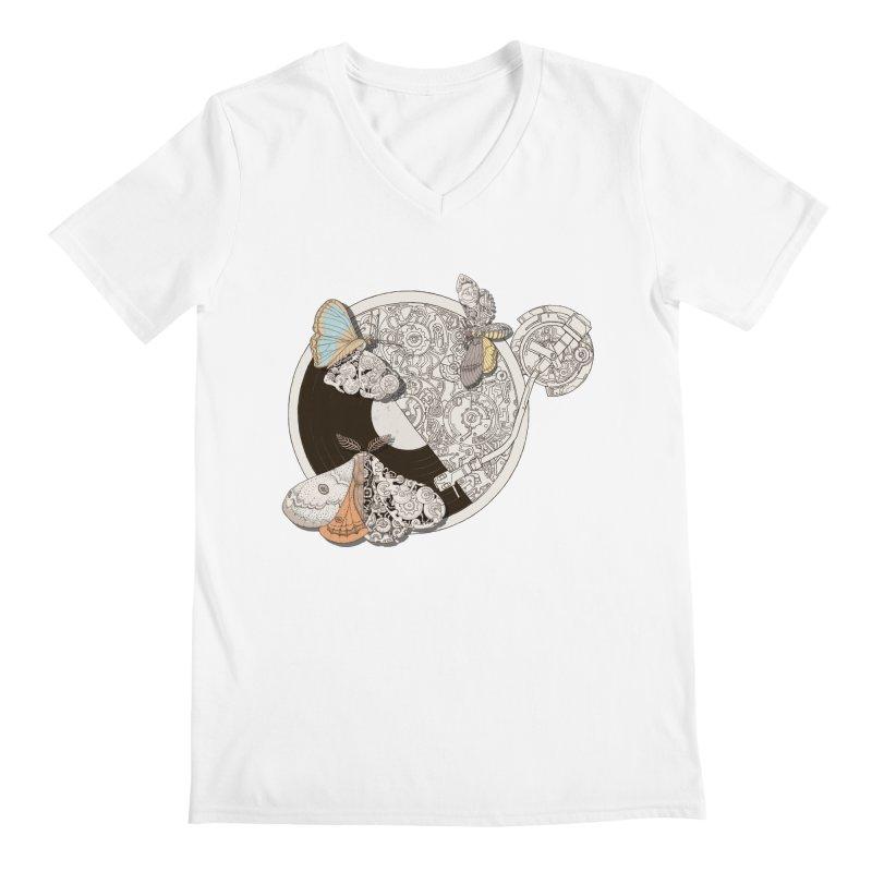 machinetamorphosis Men's V-Neck by makapa's Artist Shop