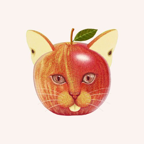 Design for Apple cat