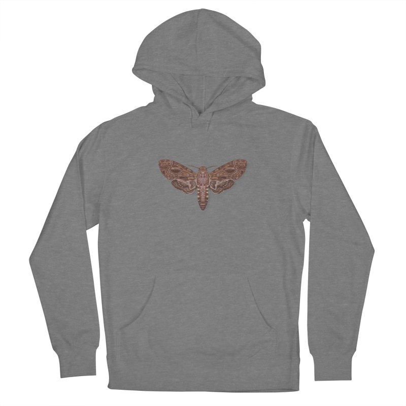Death head moth anatomy Women's Pullover Hoody by makapa's Artist Shop