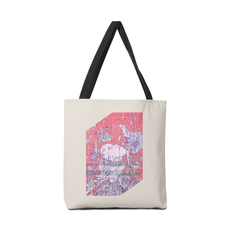 god attack Accessories Bag by makapa's Artist Shop