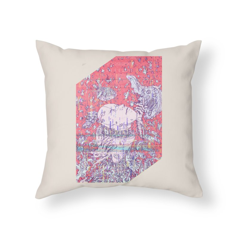 god attack Home Throw Pillow by makapa's Artist Shop