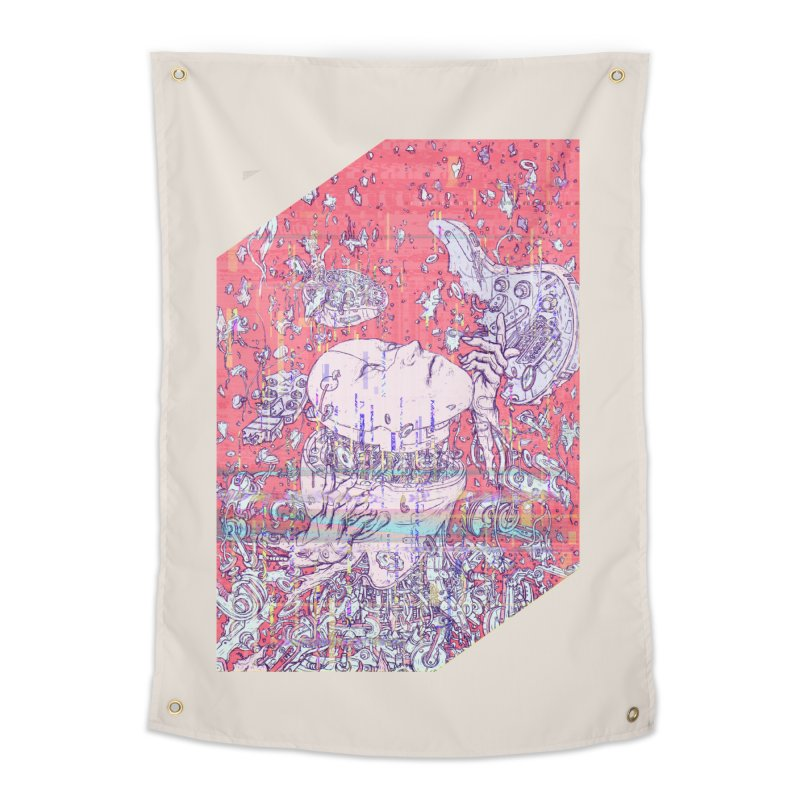god attack Home Tapestry by makapa's Artist Shop
