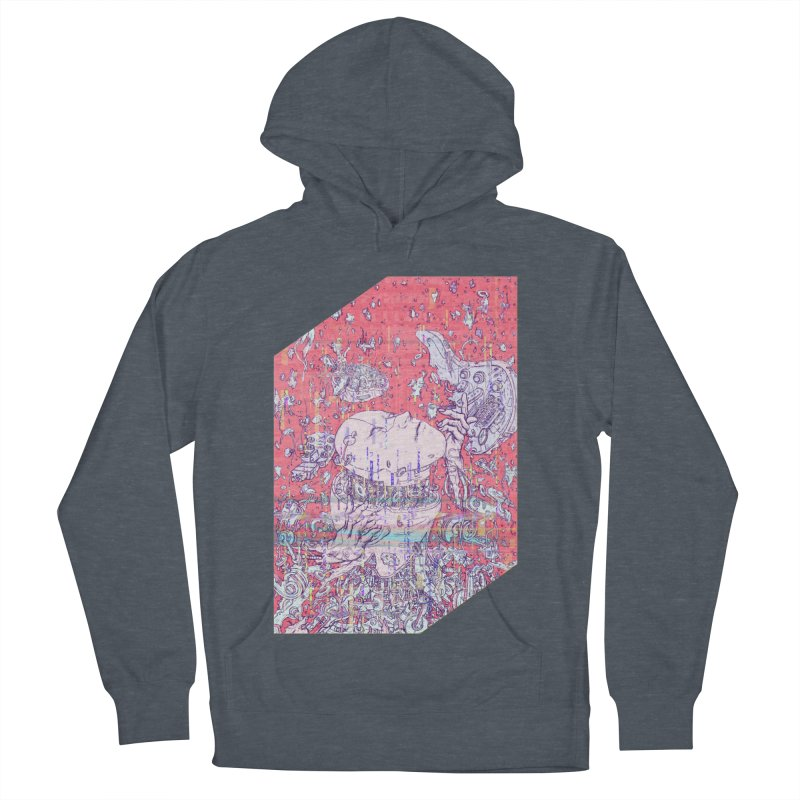 god attack Men's French Terry Pullover Hoody by makapa's Artist Shop