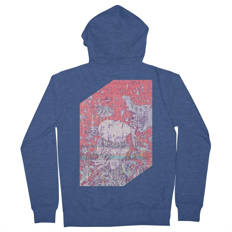 god attack Women's French Terry Zip-Up Hoody by makapa's Artist Shop