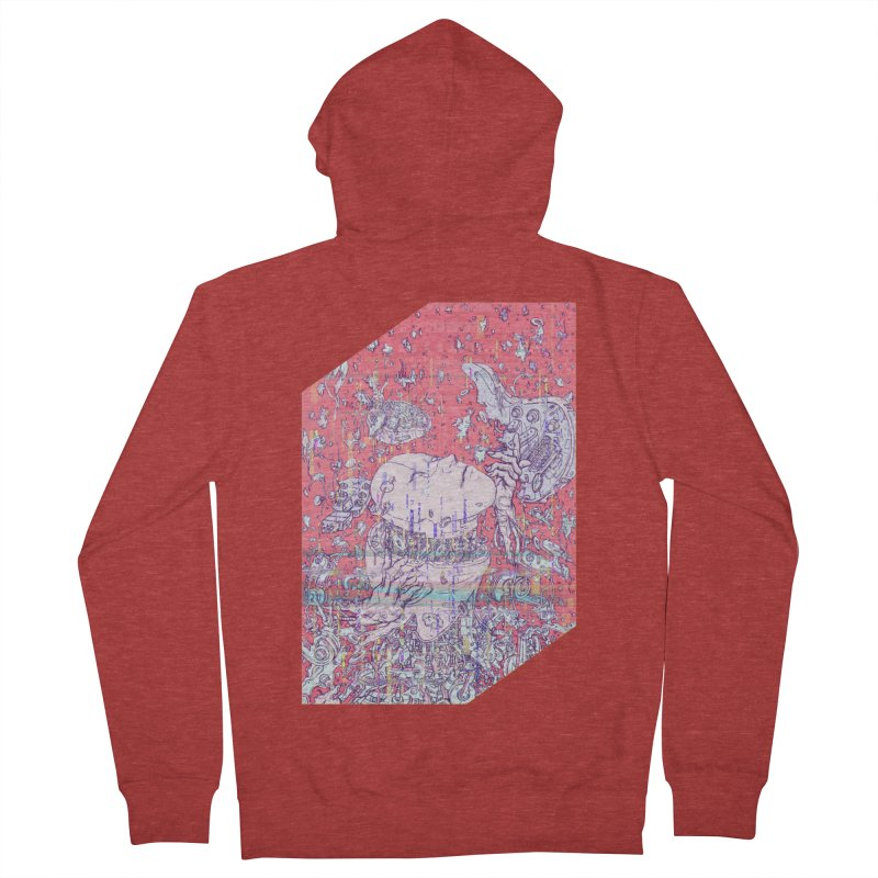 god attack Men's French Terry Zip-Up Hoody by makapa's Artist Shop