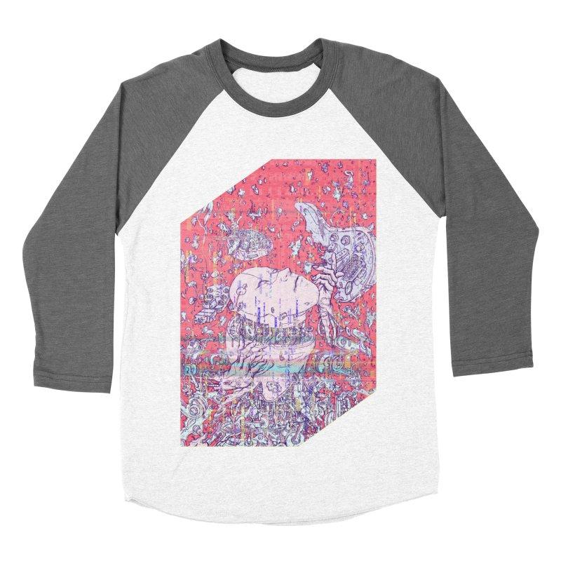 god attack Women's Baseball Triblend T-Shirt by makapa's Artist Shop