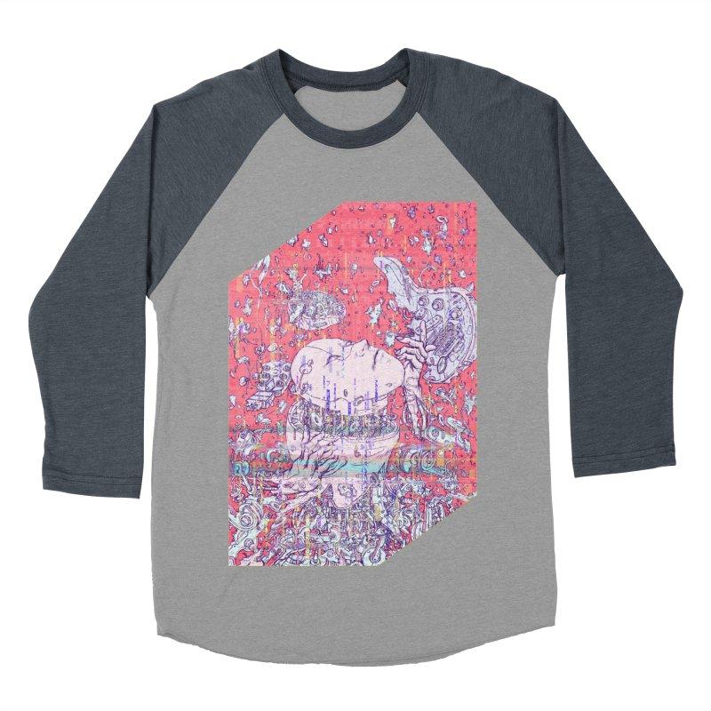 god attack Women's Baseball Triblend Longsleeve T-Shirt by makapa's Artist Shop