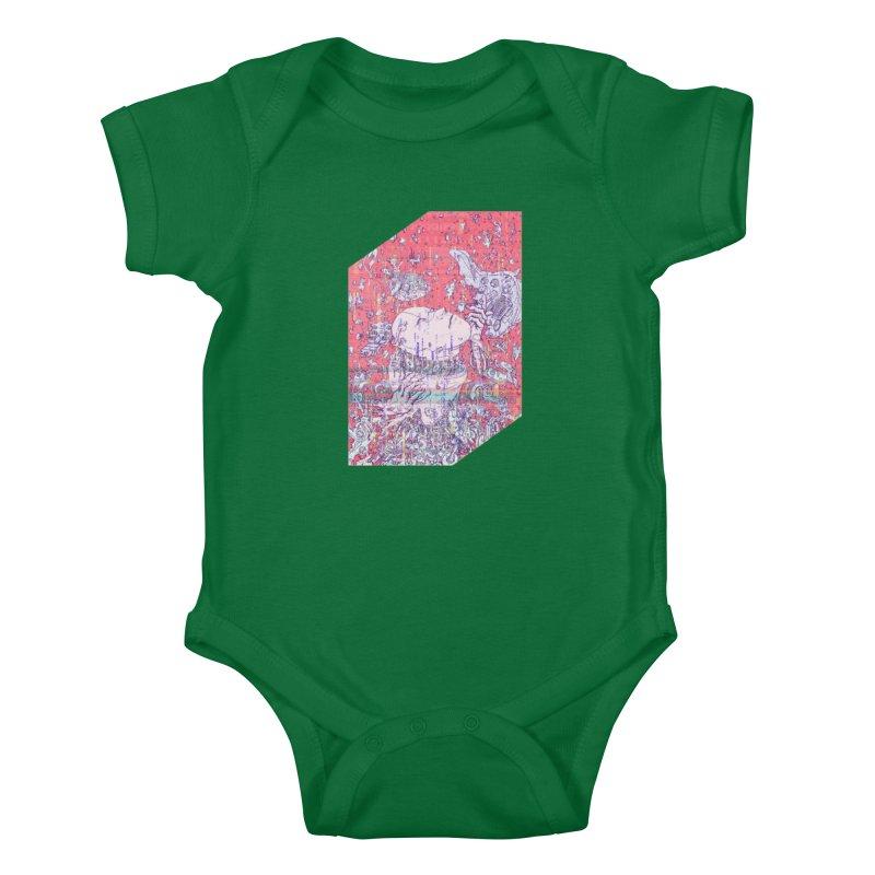 god attack Kids Baby Bodysuit by makapa's Artist Shop