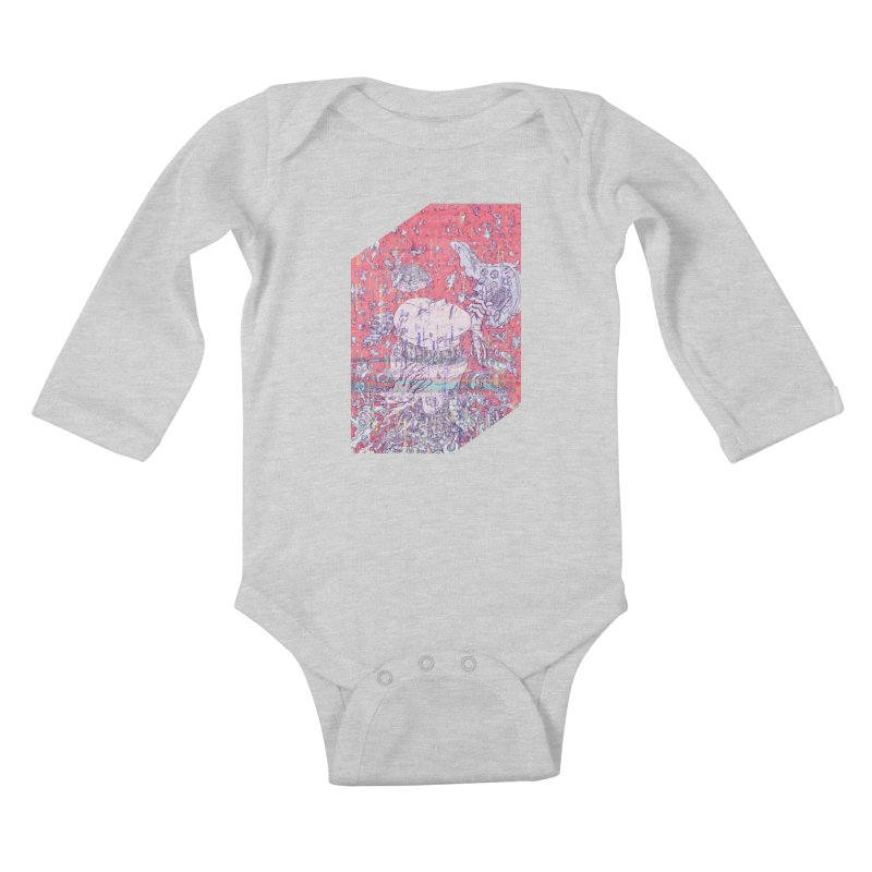 god attack Kids Baby Longsleeve Bodysuit by makapa's Artist Shop