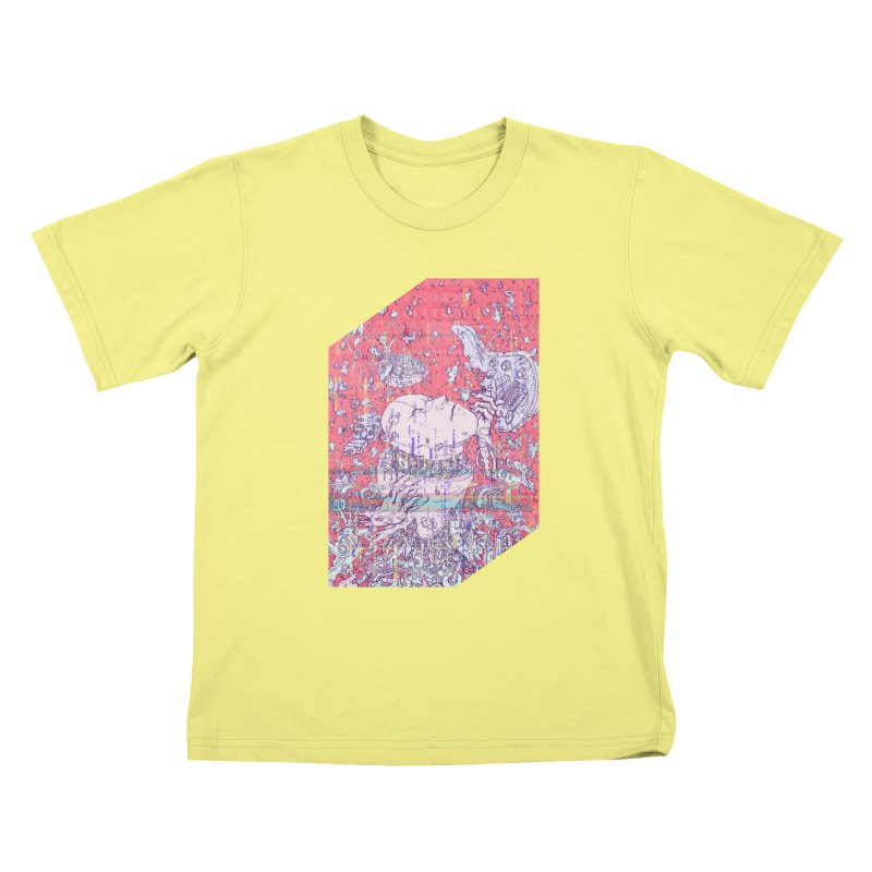 god attack Kids T-shirt by makapa's Artist Shop