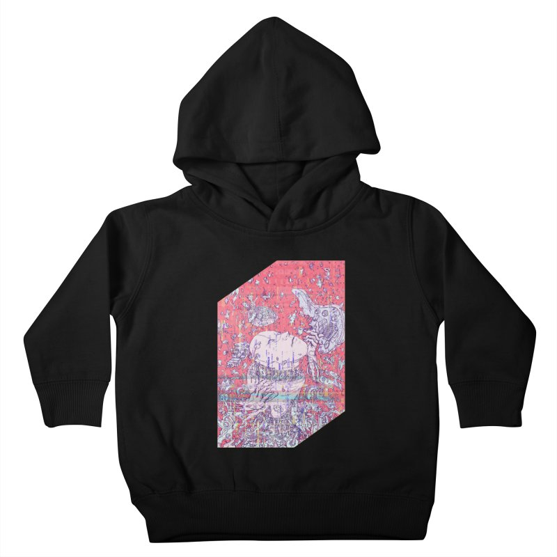 god attack Kids Toddler Pullover Hoody by makapa's Artist Shop