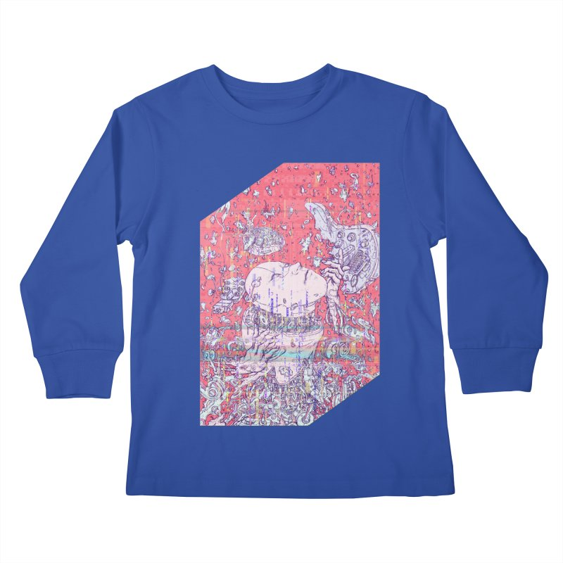 god attack Kids Longsleeve T-Shirt by makapa's Artist Shop