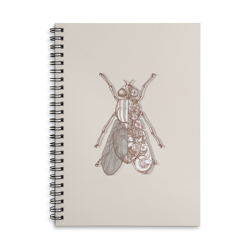 Fly house sci-fi Accessories Notebook by makapa's Artist Shop