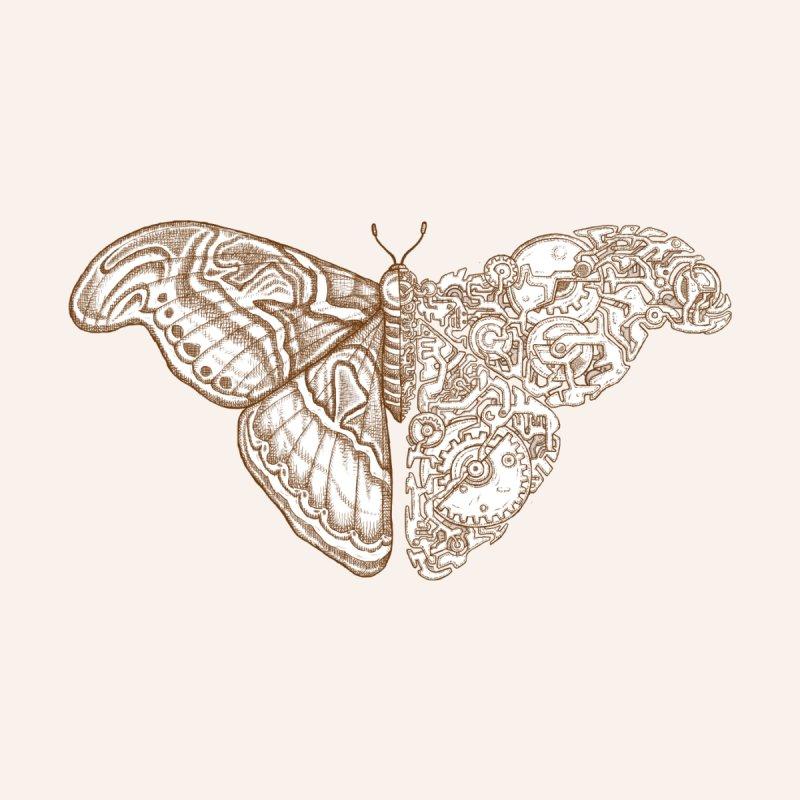Moth sci-fi 02 Men's T-Shirt by makapa's Artist Shop