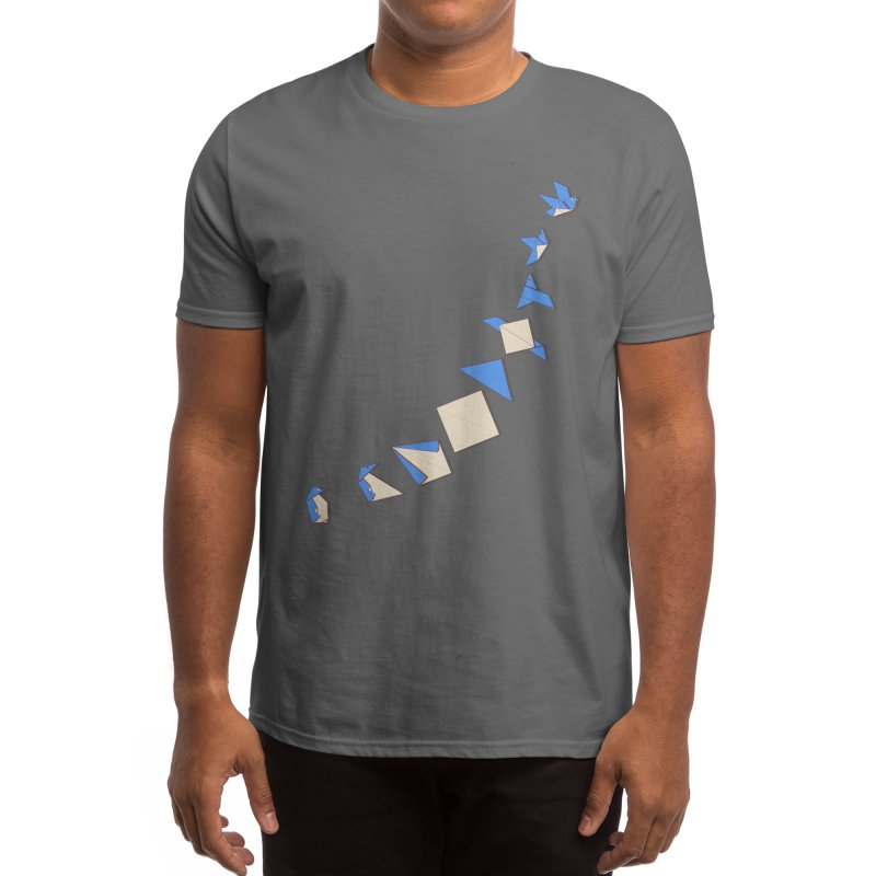 I can fly Men's T-Shirt by makapa's Artist Shop
