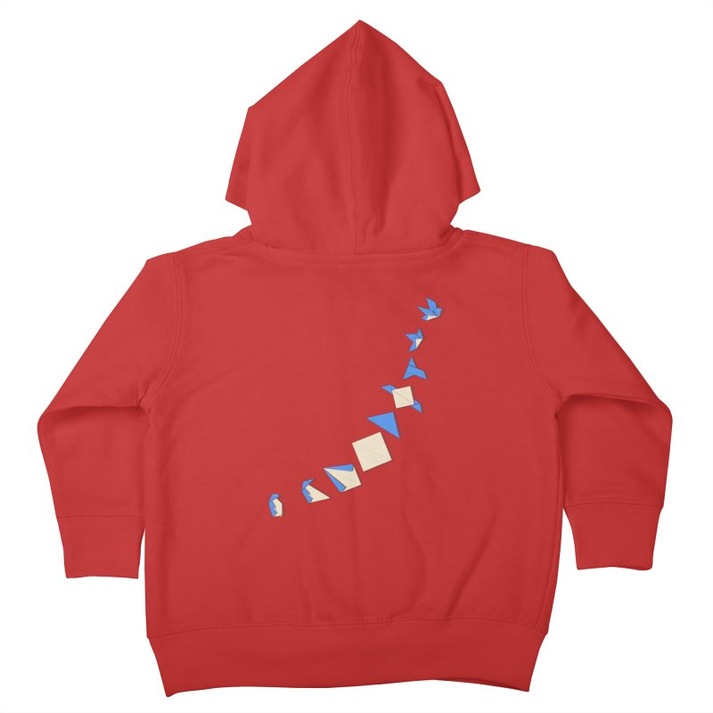 I can fly Kids Toddler Zip-Up Hoody by makapa's Artist Shop