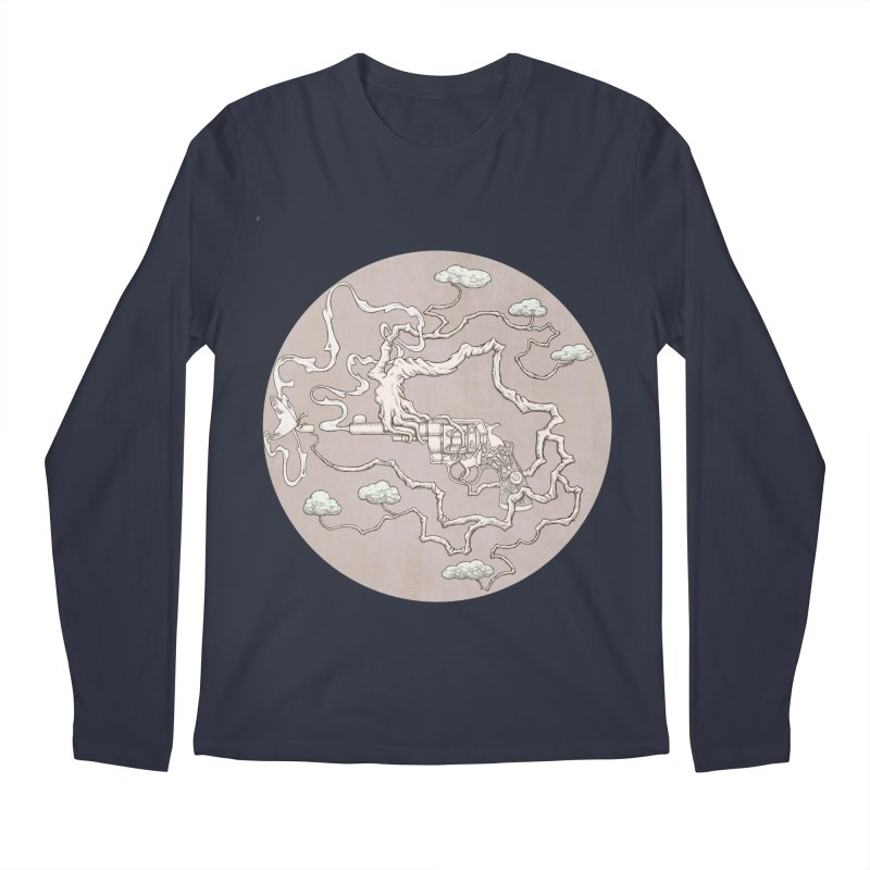 slow gun Men's Longsleeve T-Shirt by makapa's Artist Shop