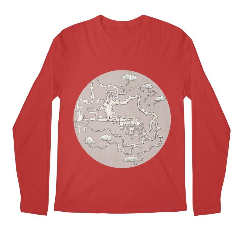 slow gun Men's Regular Longsleeve T-Shirt by makapa's Artist Shop